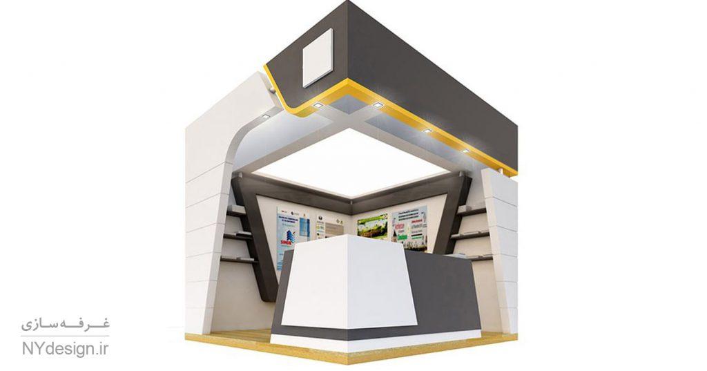 فضاهای کوچک و بازدهی فوق العاده در غرفه های نمایشگاهی - NYdesign (1)