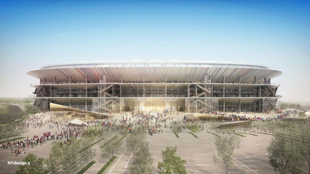 New Camp Nou - ورزشگاه جدید بارسلونا - NYdesign (2)