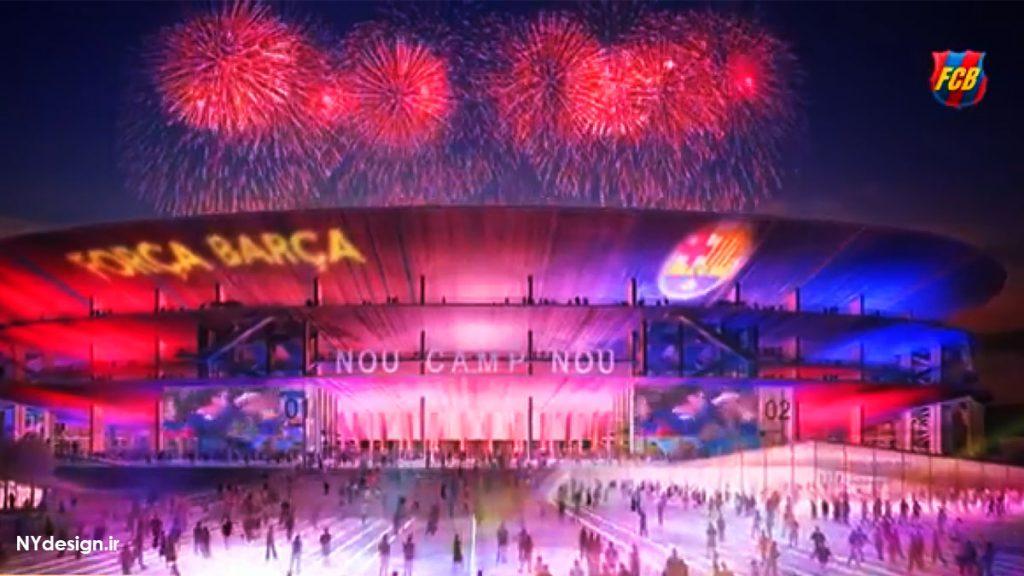 New Camp Nou - ورزشگاه جدید بارسلونا - NYdesign (4)